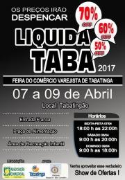 Vem aí LiquidaTaba 2017